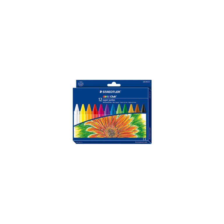 Ceras super jumbo de 12 colores 226 NC12
