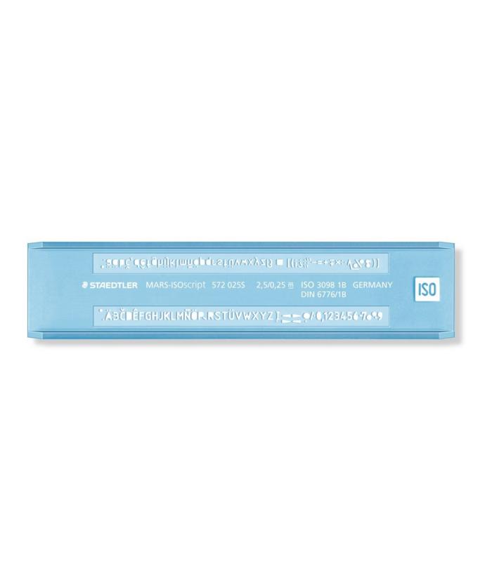PLANTILLA 572 025 2.5mm