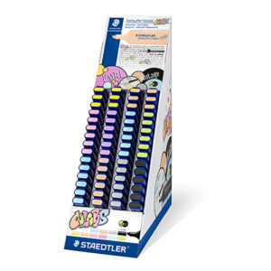 STAEDTLER - TEXTSURFER CLASSIC 364 - Colores Pastel y Vintage - Espositor