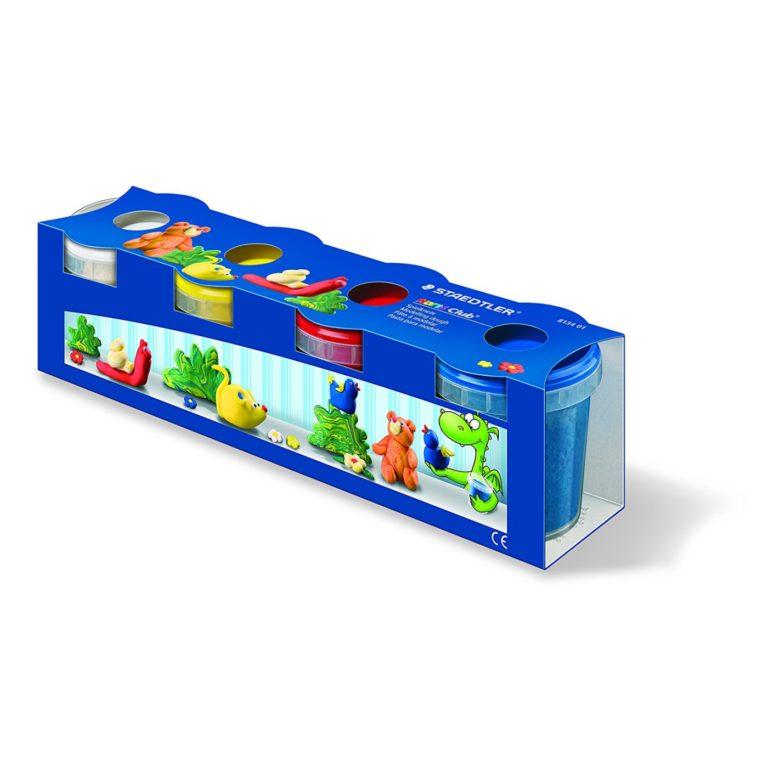 Plastilina Staedtler 8134 01 (Set de 4 colores)