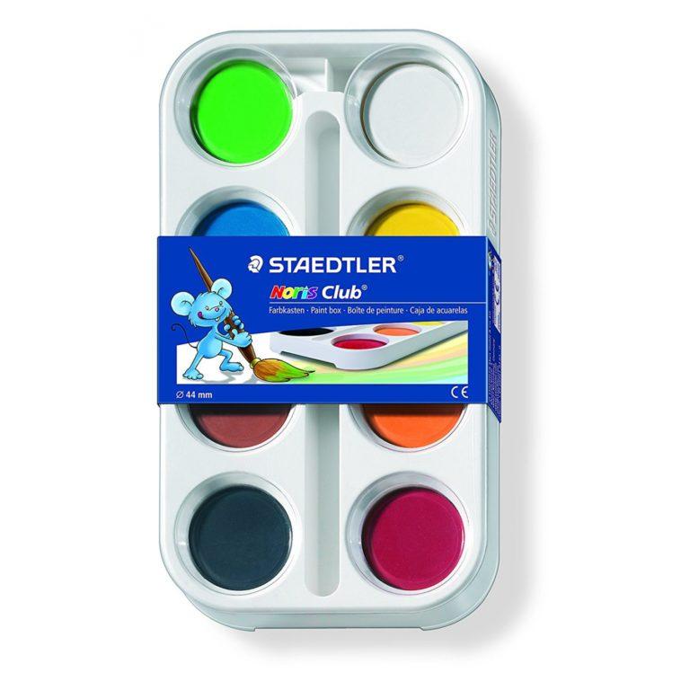 Acuarelas Staedtler de 8 colores