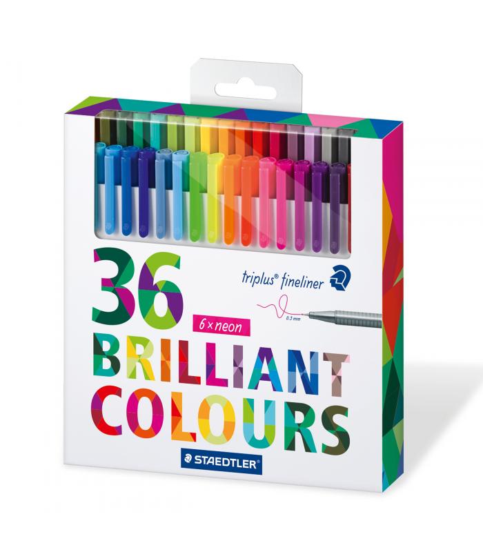 Fineliner 334 C36 (36 colores)