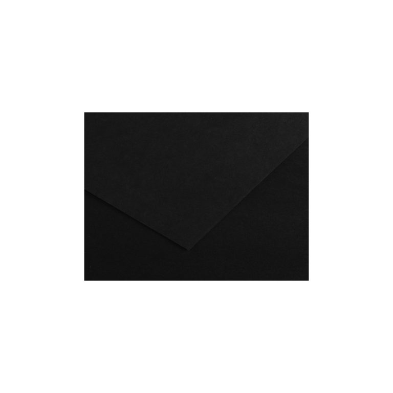 Cartulina 50x65 185g Iris Canson NEGRO