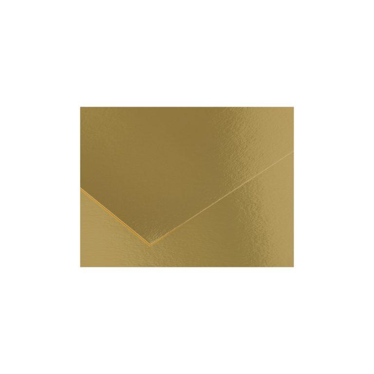 Cartulina 50x65 280g Iris Canson metalizada ORO
