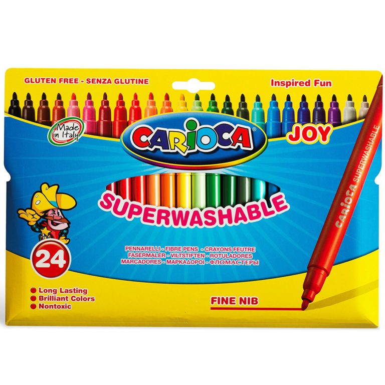 Rotuladores CARIOCA Joy de 18 colores