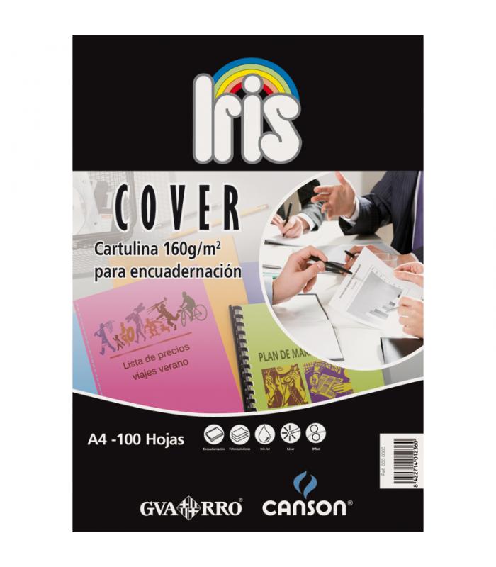 Cartulina A4 Cover Iris blanco 100 hojas 180gr. GUARRO CANSON