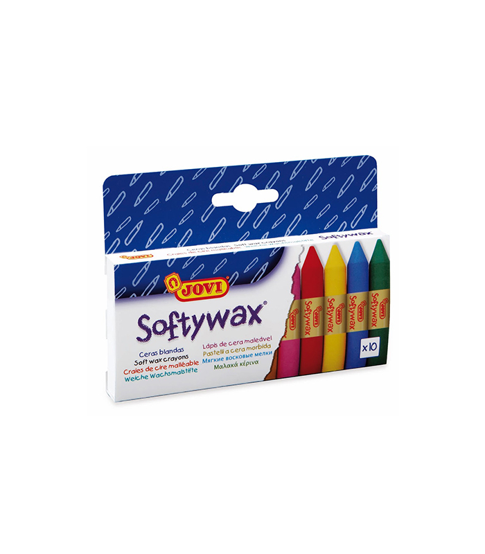 Softywax 10 colores JOVI