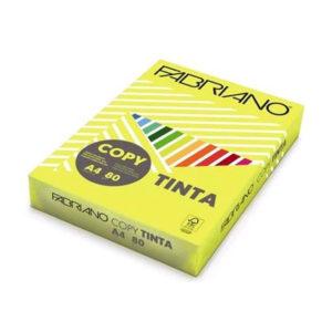 FABRIANO - Papel A4 - 80gr - 500 Hojas - PLATANO