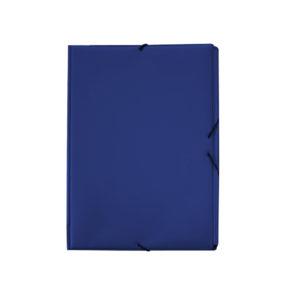 GRAFOPLAS - Carpetas Solapas PVC - 1/4 - Azul