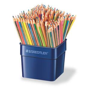 STAEDTLER - Lápices triangulares de 12 colores - 144 unidades - colores surtidos