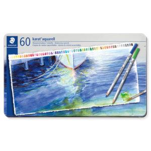 STAEDTLER - Lápices acuarelables de 60 colores karat aquarell