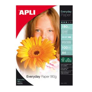 APLI - PAPEL FOTOGRAFICO EVERYDAY 180 gr