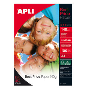 APLI - PAPEL FOTOGRAFICO BEST PRICE 140 gr