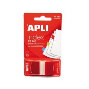 APLI - INDICE 25X 45 - ZIGZAG - Rojo
