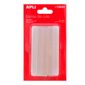 APLI - BARRAS DE COLA PARA PISTOLAS - Diametro 11 mm (pack 10 barras)