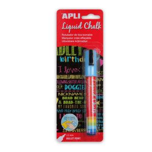 APLI - TIZA LIQUIDA - LIQUID CHALK - 5,5 mm - Azul