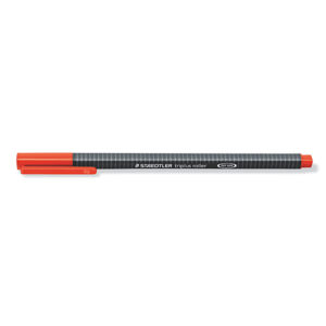 STAEDTLER - BOLIGRAFO TRIANGULAR ROLLER 403 - Rojo
