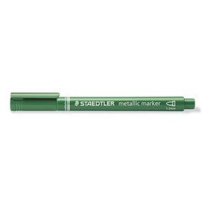 STAEDTLER - ROTULADOR METALICO verde