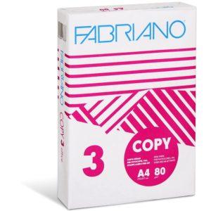 FABRIANO - Papel 80 gr - COPY - A4 - 500 hojas