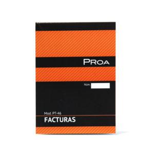 PROA -  TALONARIO FACTURAS 1/8 - Natural