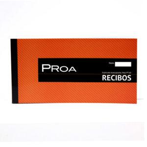 PROA -  TALONARIO RECIBOS 1/3 - Duplicado