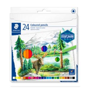 STAEDTLER - Lapiz de color - 24 colores
