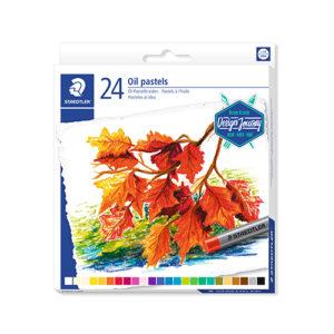 STAEDTLER - Pastel al óleo 2420 - 24 colores