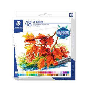 STAEDTLER - Pastel al óleo 2420 - 48 colores