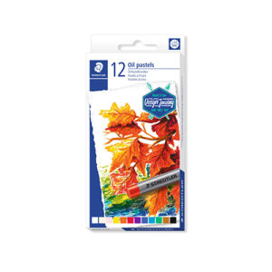STAEDTLER - Pastel al óleo 2420 - 12 colores