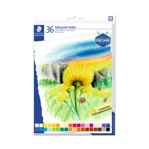 STAEDTLER - Tizas de pastel suaves - 36 colores - 2430