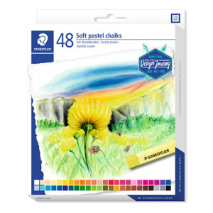 STAEDTLER - Tizas de pastel suaves - 48 colores - 2430