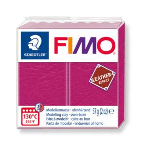 STAEDTLER FIMO® leather effect 8010 - ROJO BAYA