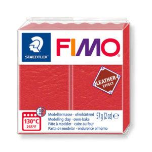 STAEDTLER FIMO® leather effect 8010 - ROJO SANDÍA