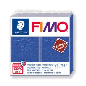 STAEDTLER FIMO® leather effect 8010 - AZUL INDIGO