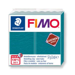 STAEDTLER FIMO® leather effect 8010 - AZUL LAGUNA