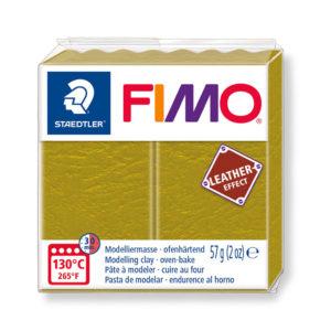 STAEDTLER FIMO® leather effect 8010 - VERDE OLIVA