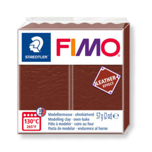 STAEDTLER FIMO® leather effect 8010 - NUEZ