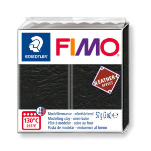 STAEDTLER FIMO® leather effect 8010 - NEGRO