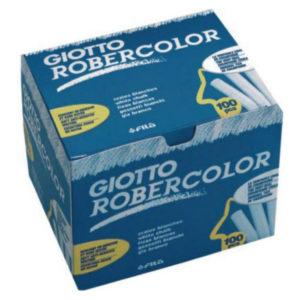 GIOTTO -Tizas Robercolor - Color blanco - 100 Und
