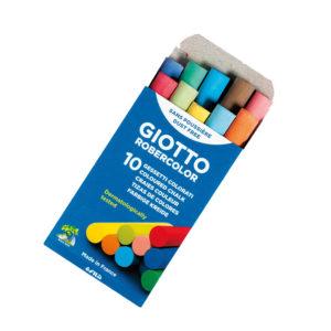 GIOTTO -Tizas Robercolor -  Colores surtidos -10 Und
