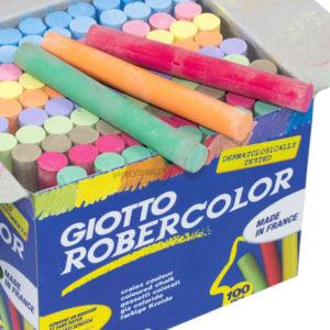 GIOTTO -Tizas Robercolor - Colores surtidos - 100 Und