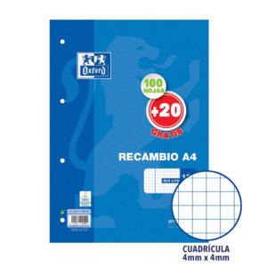 OXFORD - Recambio - A4 - 4x4 cm