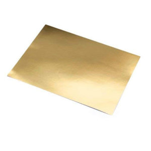 SADIPAL: Cartulina Metalizada - Paquete 10 - ORO BRILLANTE