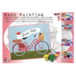 ARENART - Pintura con arena - Picnic Ride