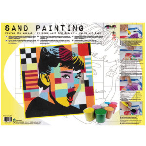 ARENART - Pintura con arena - Audrey Pop Art