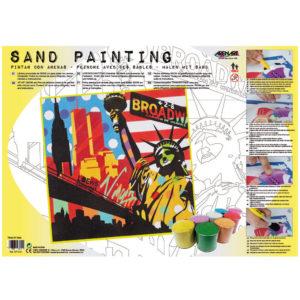 ARENART - Pintura con arena - New Yor Pop Art