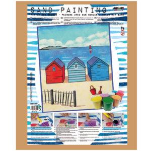 ARENART - Pintura con arena - Casitas Playa