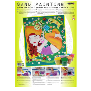 ARENART - Pintura con arena - Madre