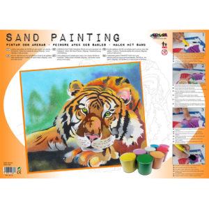 ARENART - Pintura con arena - Tigre
