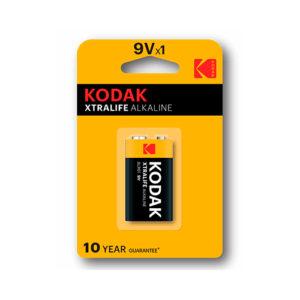 KODAK - Pilas alcalinas XtraLife 9V - 6LR61